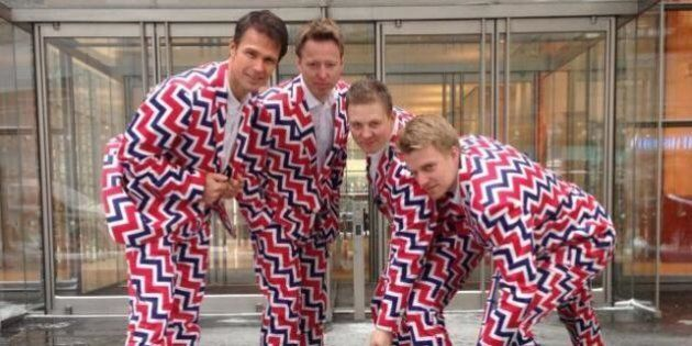 2014 Olympics: Norwegian Curlers And Their Incredible Pants Are Back For Sochi
