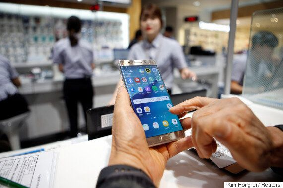 Samsung Profit Falls Sharply In Wake Of Galaxy Note 7