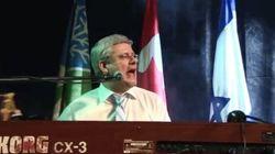 WATCH: Harper Sings 'Hey Jude' At State Dinner In