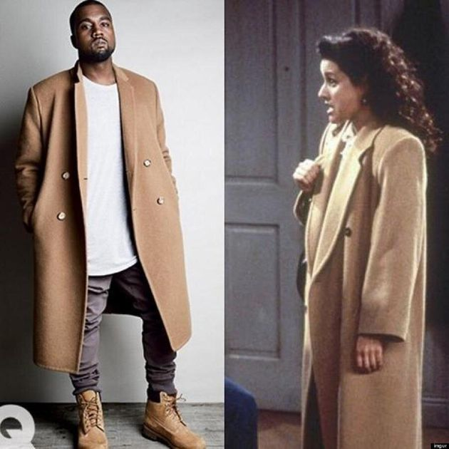Kanye West And Elaine Benes Have The Same