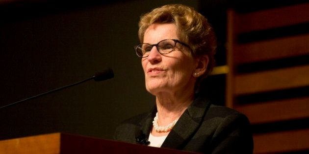 TORONTO, ON - MARCH 7 - Kathleen Wynne (pictured), Ontario's first female premier, jumped the hurdle...