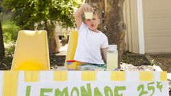 Lemonade Stands Rake In Big Bucks For Fort McMurray