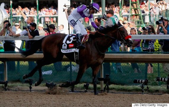 Mario Gutierrez And Horse Nyquist Win 2016 Kentucky