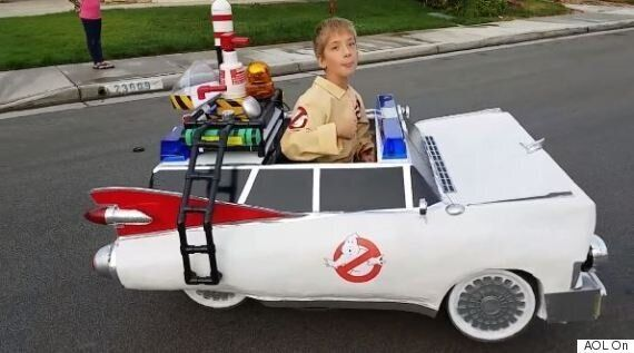 Wheelchair Costumes: Dad Transforms Son's Chair Into Epic Ghostbusters