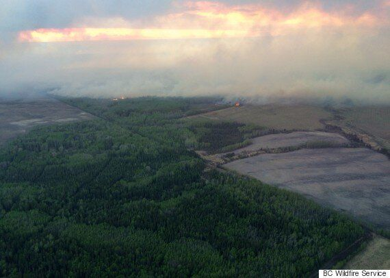 Fort St. John Fire: Heat Wave Fuels Wildfires In Northern