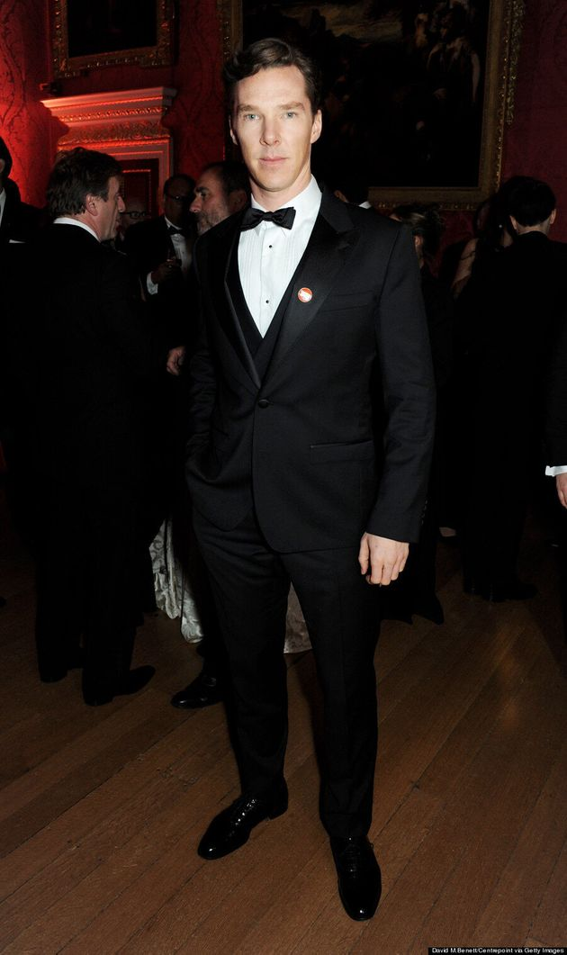 Benedict Cumberbatch Shows Us How To Wear Black Tie At Winter Whites Gala