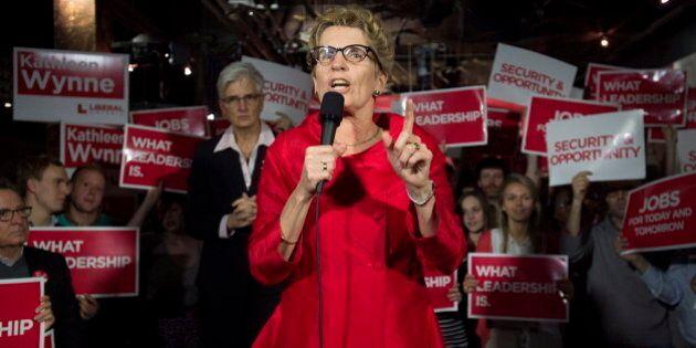 Feds Swipe At Kathleen Wynne As Ontario Campaign Kicks