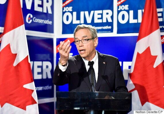 Joe Oliver Seeking Ontario Progressive Conservative Nomination For 2018