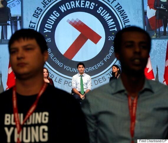 Trudeau Booed, Jeered At Youth Labour Forum In