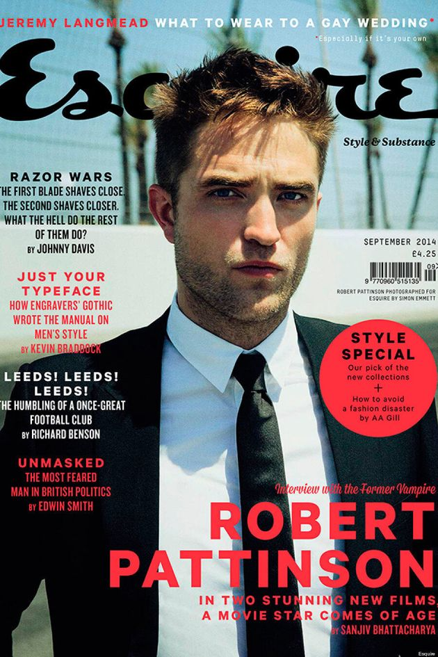 Robert Pattinson Is Totally Swoon-Worthy On Esquire UK