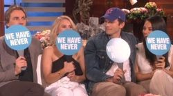 Kristen Bell, Mila Kunis Play 'Never Have We Ever' With Their Hubbies On