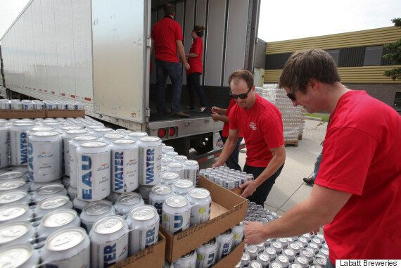 Fort McMurray Fire: Labatt Brewery Donates Canned Water For