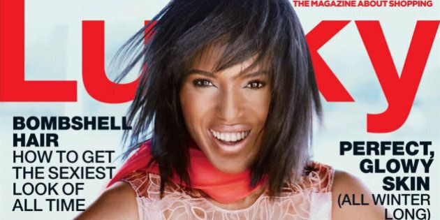 Kerry Washington's Lucky Magazine Cover Is Startling, In A Bad Way