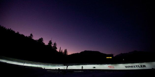 Whistler Luge Accident Injures