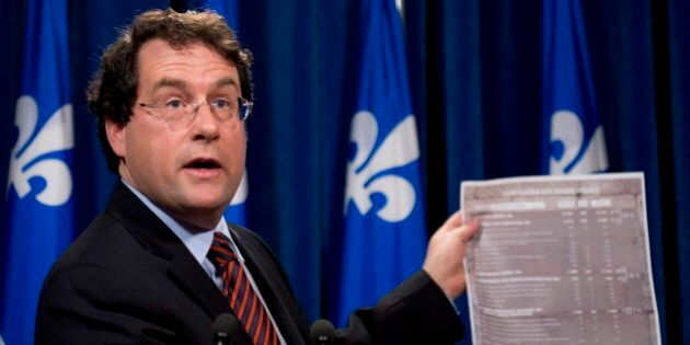 PQ Minister Bernard Drainville Bails On Charter Debate Due To Safety