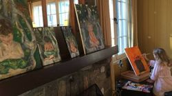 Sophie Grégoire Trudeau Shares Paintings She Made Of Her