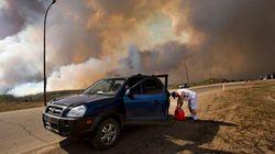 Evacuation Order Near Edmonton