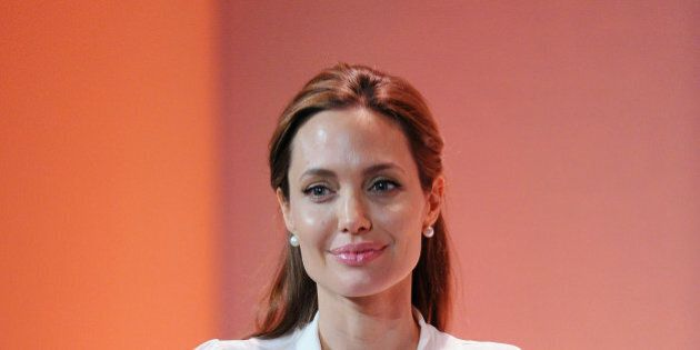 LONDON, ENGLAND - JUNE 11: Angelina Jolie attends the Global Summit to End Sexual Violence in Conflict...