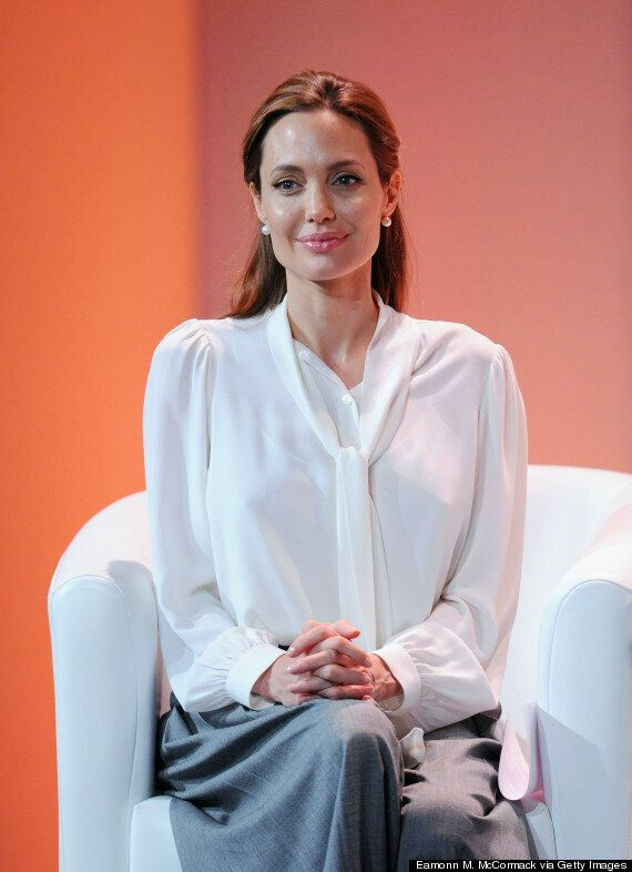 Angelina Jolie Looks Chic In Michael Kors At Global Summit