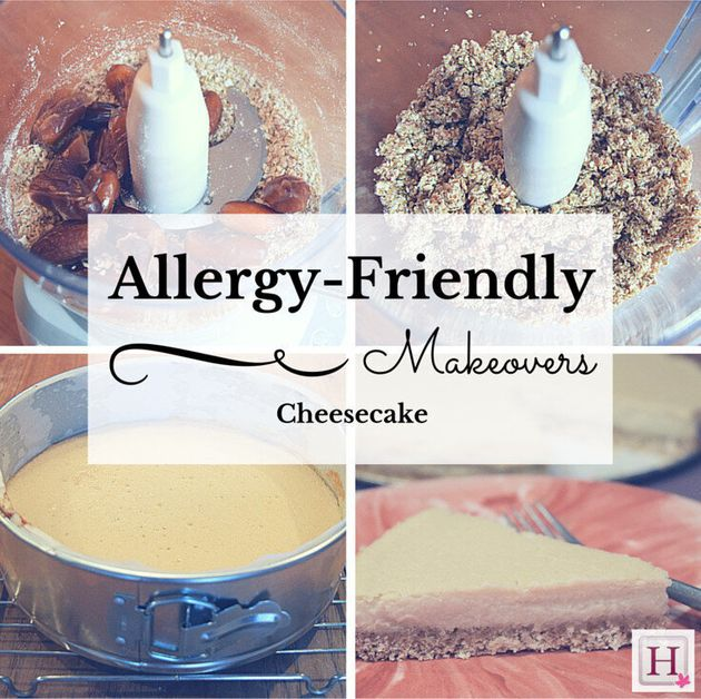 Cheesecake Gets An Allergy-Friendly