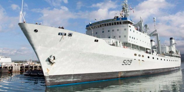 DND Warned Before HMCS Protecteur Fire The Electrical System Might Be