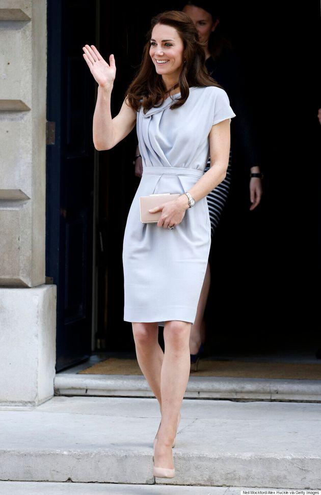 Kate Middleton Wore A Michael Kors Coat To The Magic Garden
