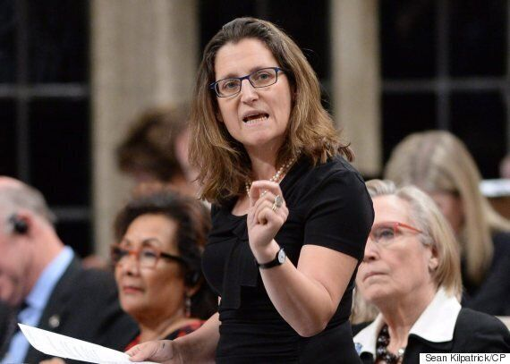Chrystia Freeland Faces New Pressure From Conservatives Over So-Called 'Vanity