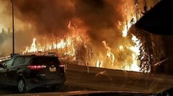 Thousands Flee In Alberta's Largest Fire