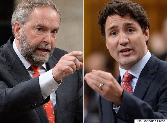 Trudeau Says Mulcair Shares Blame For Federal Liberals Not Hitting Kyoto