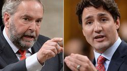 Trudeau Says Mulcair Shares Blame For Liberals' Kyoto