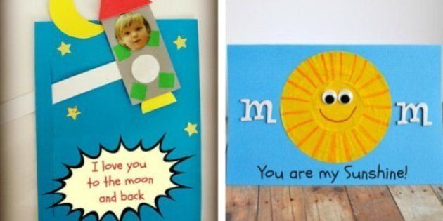 Mother's Day Crafts For Kids: 12 Cards To Fill With