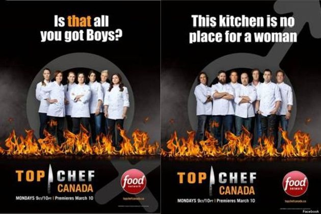 'Top Chef Canada' Posters Leave Canadian Fans
