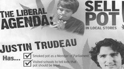 Tory Flyer Says Trudeau Lectured Kids On 'Benefits' Of Marijuana. Except He