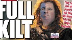 Twitter Mercilessly Mocks Ford's 'Braveheart'