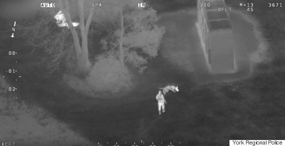 York Regional Police Enlisted Helicopter To Arrest Candy Thieves At Canada's