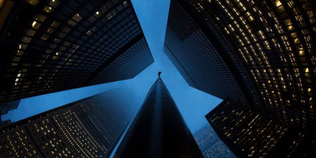 Buildings are seen in the financial district in Toronto, January 28, 2013. Moody's Investors Service...