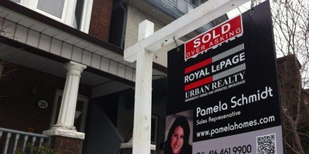 In Toronto, When A House Doesn't Sell, The Price Goes