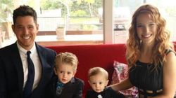 Michael Bublé's Wife Confirms Son Beat Liver