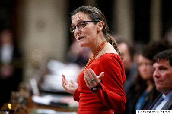 Chrystia Freeland: Russia Can Get On 'Right Side Of History' And Push Assad Regime