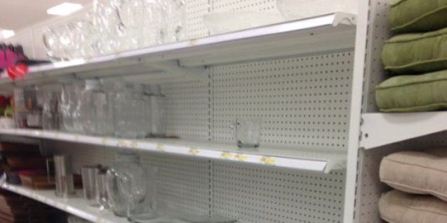 Target Canada's Empty Shelves A Bad Sign: Belus Capital