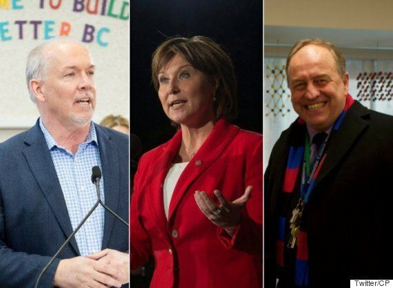 Andrew Weaver More Popular Than Christy Clark On Eve Of B.C. Election Campaign: