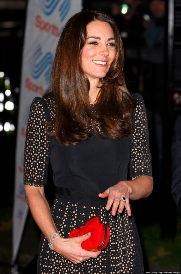Kate Middleton Finally Steps Out Of Her Comfort Zone In Laser Cut Temperley London Dress