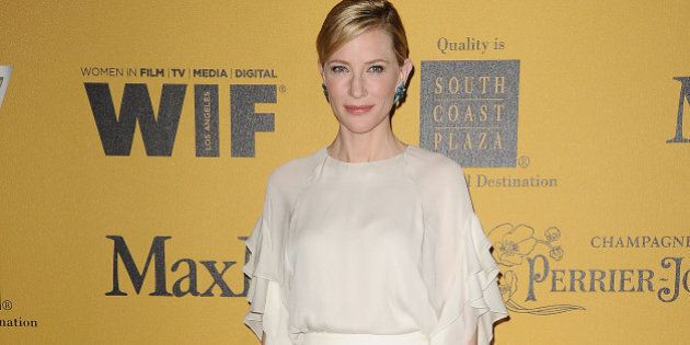 CENTURY CITY, CA - JUNE 11: Actress Cate Blanchett attends the Women In Film 2014 Crystal + Lucy Awards...