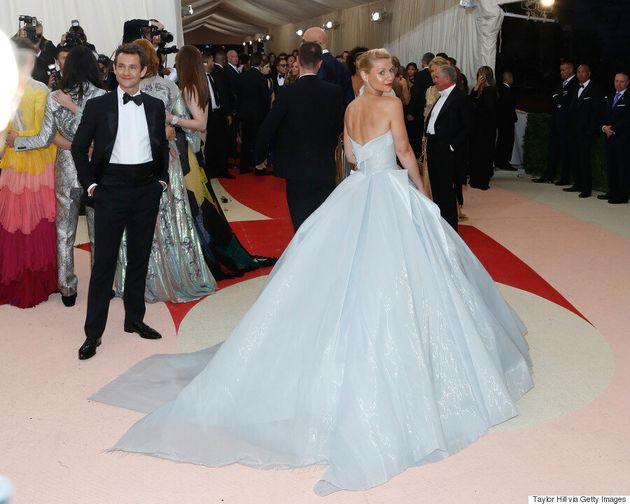 Met Gala 2016: Claire Danes Channels Cinderella In Zac Posen Light-Up