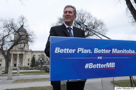 Brian Pallister, Manitoba's New Tory Premier, Names 12 To