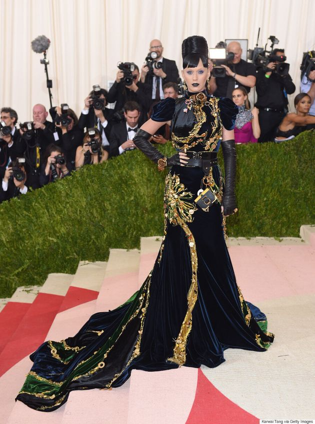Katy Perry's 2016 Met Gala Dress Is Interesting, To Say The