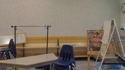 What B.C. Public School Classrooms Look Like Without Stuff Teachers