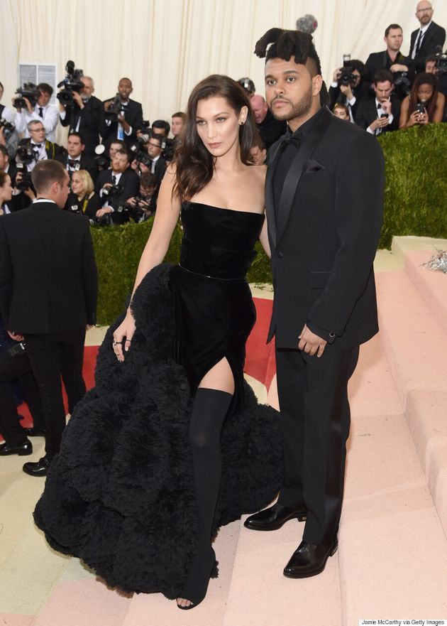 Met Gala 2016: The Weeknd And Bella Hadid Go Matchy-Matchy In