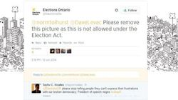 People Are Tweeting Their Ballots And Elections Ontario Is Freaking