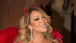 Mariah Carey Donned Devil Costume At Halloween Bash With